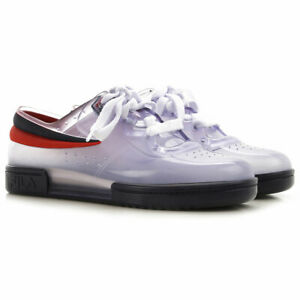 Details about Melissa Sneakers + Row ad, ad Fila Tennis Shoes Sneakers