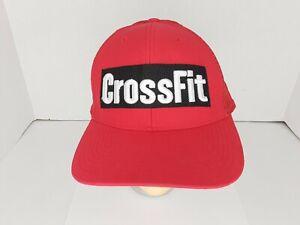 Muslo Asentar Cuerpo  Reebok Crossfit Embroidered Red Snapback Trucker Mesh Adjustable Hat Cap |  eBay