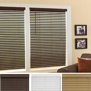 la foto se est cargando mini window blinds 2 034 inch faux wood
