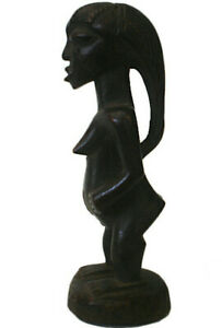 Afrika-Figur-Luba-Kongo-Stammeskunst-Tribal-Art