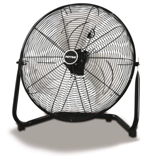 "3 Speed Durable, Patton Puf2010b-bm 20/"" High Velocity Fan 20/"" Diameter"