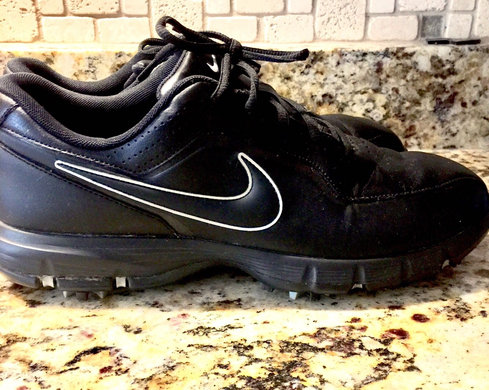 Men's Nike Black Durasport II Golf TAC Sneakers Comfortable Brand discount