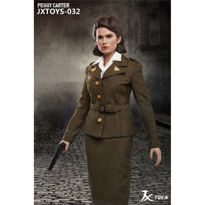 In-stock 1 6 Scale JXTOYS 032 Peggy Carter Action Figure
