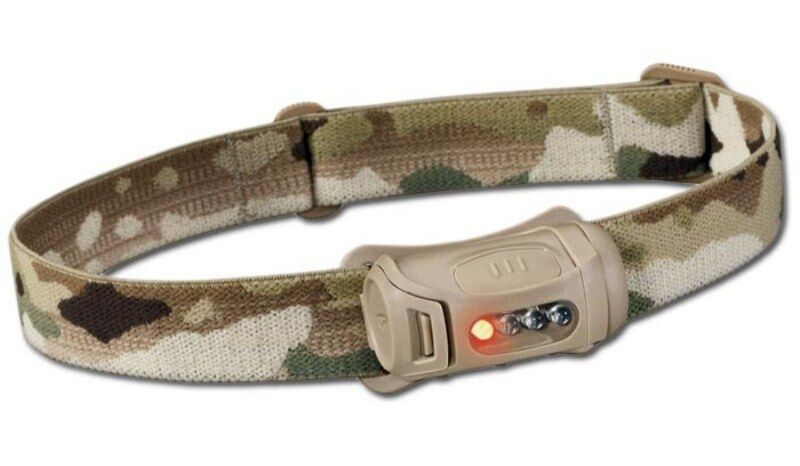 PRINCETON TEC® FROT Professional Military Tactical Headlight Tan / Multicam USA