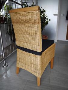Stuhlkissen 40 x 40 x 4 cm Sitzkissen terrakotta mit Klettband