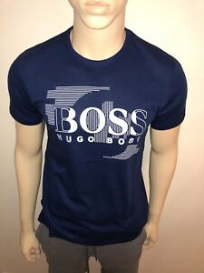 57c88e98e Mens 2018 Hugo Boss tshirt Rubber Print Medium RRP £55 Our Price ...