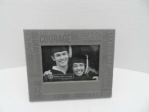 """Graduation Photo Frame Gift With Congratulation Wording 4/"""" x 6/"""" 60365"""