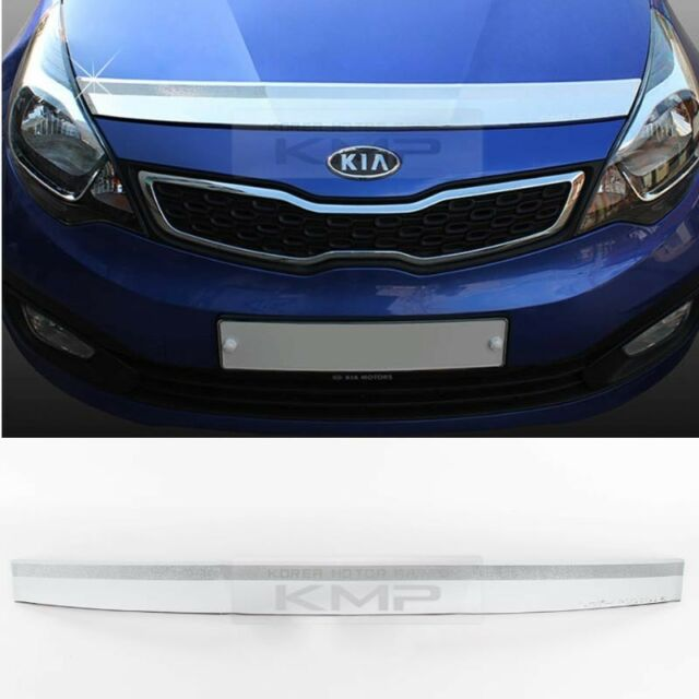 Promotion Chrome Bonnet Guard Cover Garnish Molding K878 for KIA 12-17 RIO