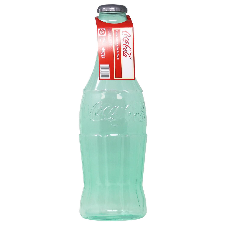 Coca cola A Bottle piggy bank of ultra-big cola Coca-Cola jumbo bottle bank !