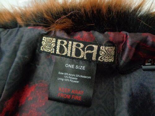 BNWT Biba Tan Faux Fur Scarf