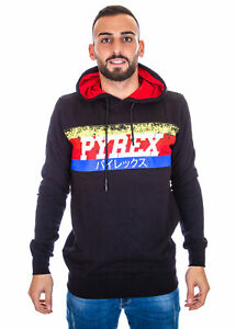 Pyrex-Hooded-Sweatshirt-Man-19IPB40364-Black