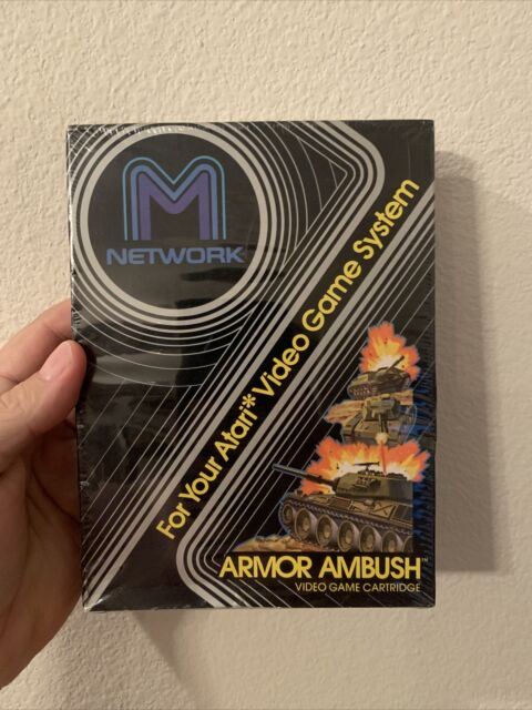 Atari 2600 Armor Ambush Sealed! New! Free Shipping!