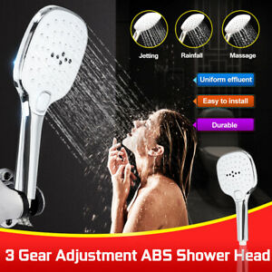 3-Gear-Square-Adjustment-Rain-Shower-Head-Home-Bathroom-Square-Shower-Head
