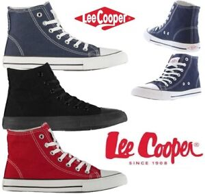Du Baskets Sport Chaussures 41 Cooper En Lee Montantes Toile Homme 6f7gby