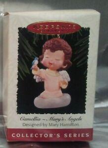 Ornaments Keepsake Ornament: Camellia - Mary's Angels ((EUC))