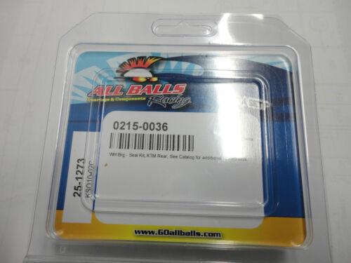 KAWASAKI ZX6R ALL BALLS RACING FRONT WHEEL BEARINGS 0215-0036