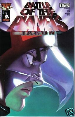 BATTLE OF THE PLANETS: JASON #1 Fi+ (Top Cow, 2002) original Comic Book