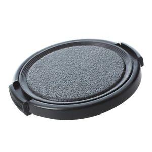5X-TextuRed-Black-Plastic-52mm-Lens-Cover-Cap-For-Camera-K9R1