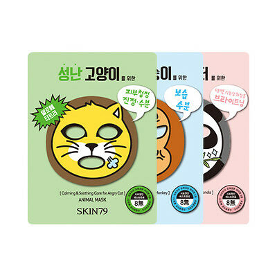 [SKIN79] Animal Mask - 1pack (10pcs)