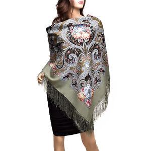 Pavlovo-Posad-russe-chale-echarpe-100-laine-coton-soie-fashion-femmes-foulards