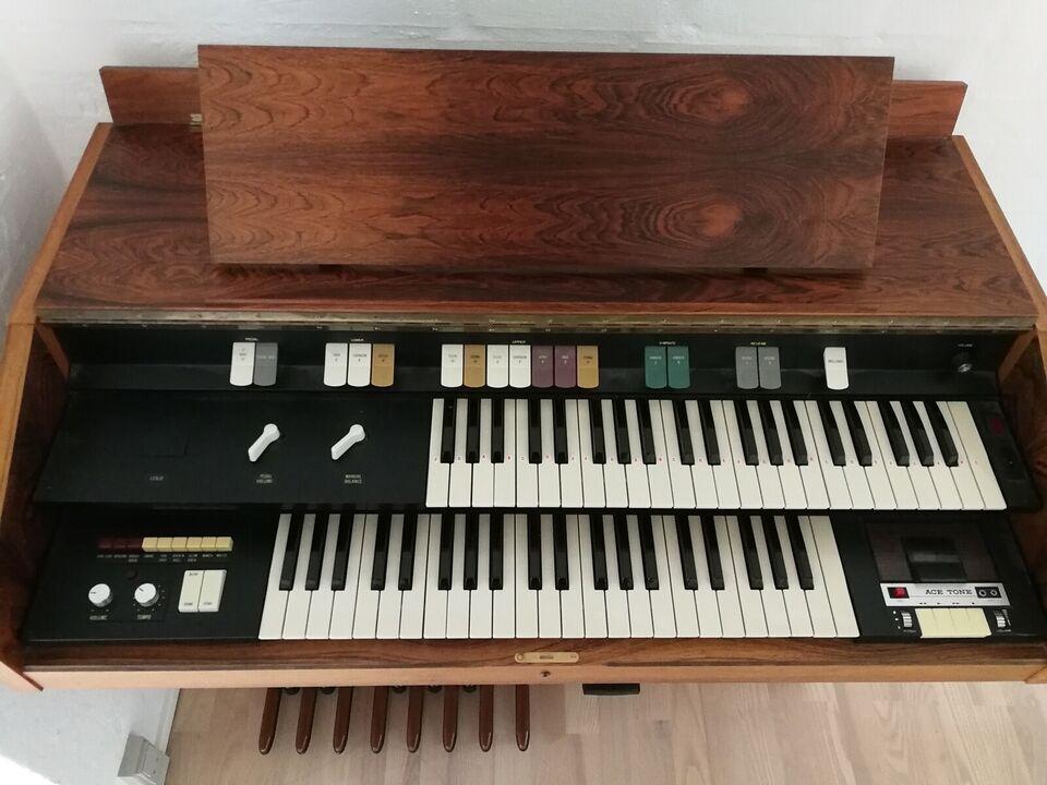 AceTone orgel i palisandertræ