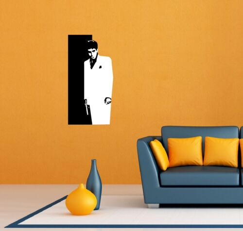 "Scarface Tony Montana Room Wall Garage Decor Sticker Decal 16/""X25/"""