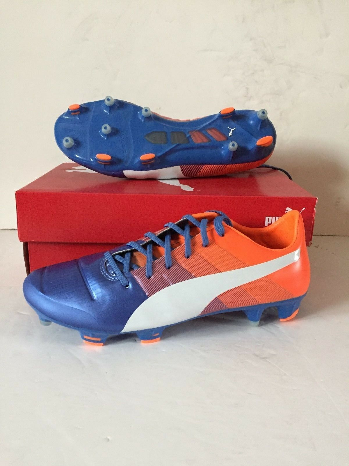 check out 55234 f33c4 Puma Mens 1.3 FG Football Boots - bluee - BNIB evopower pyyjsc9987-Shoes    Cleats