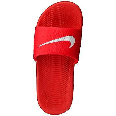University Red White New Nike Youth KAWA Slide GS 819352-600