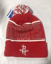502de5191 Houston Rockets NBA Mitchell   Ness HIGHLANDS Cuffed Knit Hat Cap ...