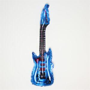 DIY-Decor-Foil-balloon-Party-Supplies-Cartoon-Guitar-Birthday-Wedding