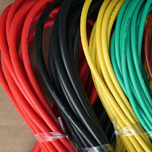 LC/_ 5m//16.40ft 30//28//26//24//22//20 AWG Stranded Silicone Electric Wire Cable Ser