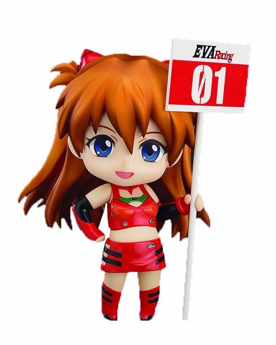 Nendoroid 468 Shikinami Asuka Langley Evangelion da Corsa Ver. Statuetta