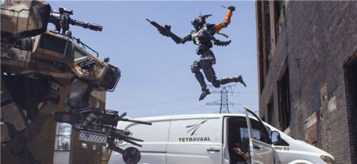 """Chappie 2015 Movie Wall 21/"""" x 13/"""" Poster C19"""