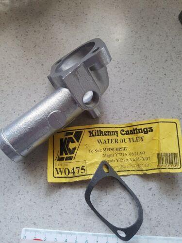 KC THERMOSTAT HOUSING WO475 MITS MAGNA TR TS VERADA KR KS 6Y721 3.0L V6