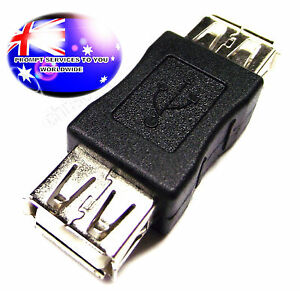 From OZ Quality 2PC USB Male to USB Male 2.0 Spec Adaptor Connector Changer FP!