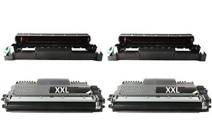 2-Drum-2-XXL-Toner-compatible-pour-Brother-mfc-l2710dn-mfc-l2710dw-hl-l2310d