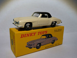 Mercedes-190-SL-ref-526-au-1-43-de-dinky-toys-atlas