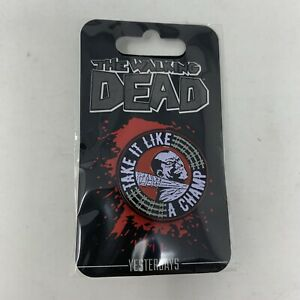 YESTERDAYS-Skybound-AMC-The-Walking-Dead-TWD-Negan-Take-It-Like-a-Champ-Pin
