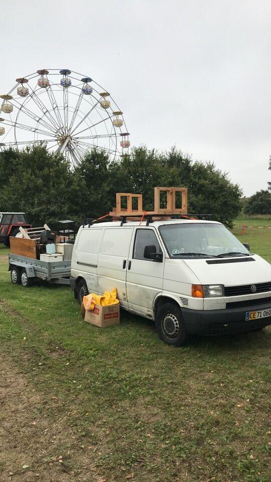VW, Transporter, 2,5 TDi Kassevogn Lang 3prs