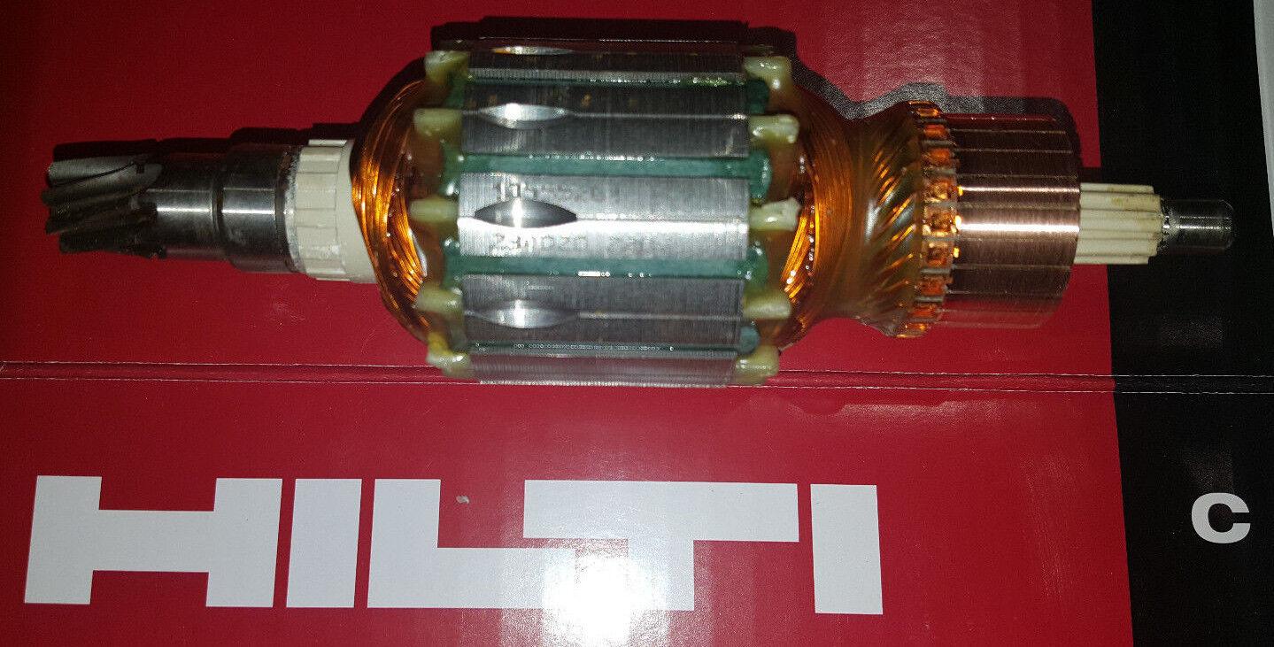 Original Neuer Anker Rotor Hilti TE 905, te 905 AVR 230 V Ersatzteil Garantie