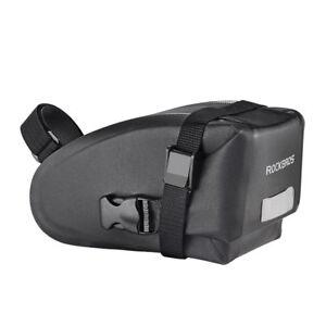 RockBros-Bicycle-Saddle-Bag-Waterproof-Reflective-Rear-Seatpost-Bag-Black