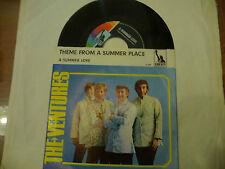 "THE VENTURES""SUMMER PLACE-disco 45 giri LIBERTY Ger 1964"""