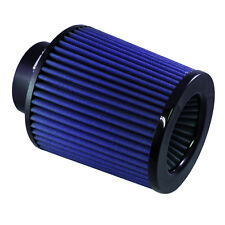 """UNIVERSAL 3.5"""" INLET x 6"""" TALL BLUE BIG MOUTH AIR FILTER & CLAMP"""