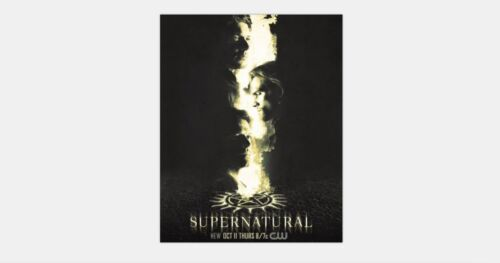 30x20 36x24 Poster Supernatural Season 14 Sam Dean Winchester /& Castiel T-1886