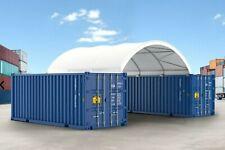 Covermore 20x20 15 Oz Pvc Shipping Cargo Container Conex Fabric Shelter