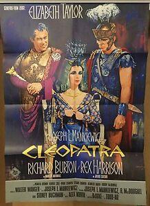 CLEOPATRA-DIN-A1-Original-Filmplakakat-EA-1963-Elizabeth-Taylor