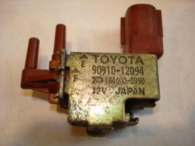 TOYOTA LEXUS OEM VACUUM SWITCH CONTROL SOLENOID VSV 90910-12094 184600-0990