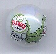 DINO Sinclair Gasoline Advertising Glass Marble