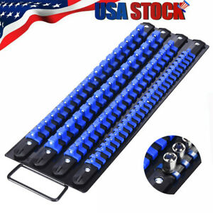 """Socket Holder Storage Tray Rack To Hold 80 Sockets For 1//4/"""" 3//8/"""" 1//2/"""" Drive"""
