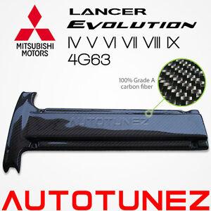 Mitsubishi-Carbon-Fiber-Engine-Spark-Plug-Cover-Lancer-EVO-4G63-Evolution-7-8-9